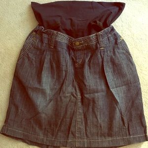 Dresses & Skirts - Maternity jeans skirt